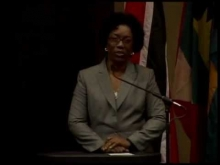 Dorothy Bradley, Chair CAROSAI, presentation at the IX Congress of Caribbean Organisation of Supreme Audit Institutions
